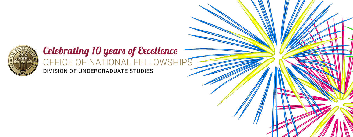 Celebrating 10 Years of the Office of National Fellowships.